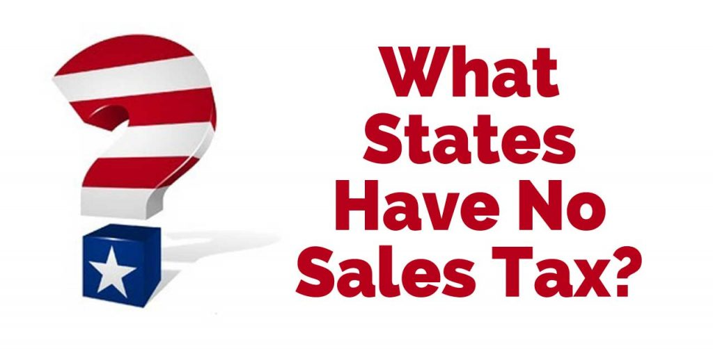 usa states with no sales tax